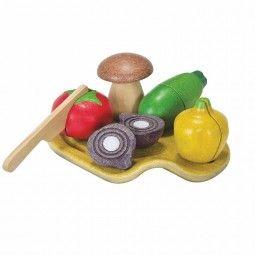 Surtido de verdura de Plan Toys.